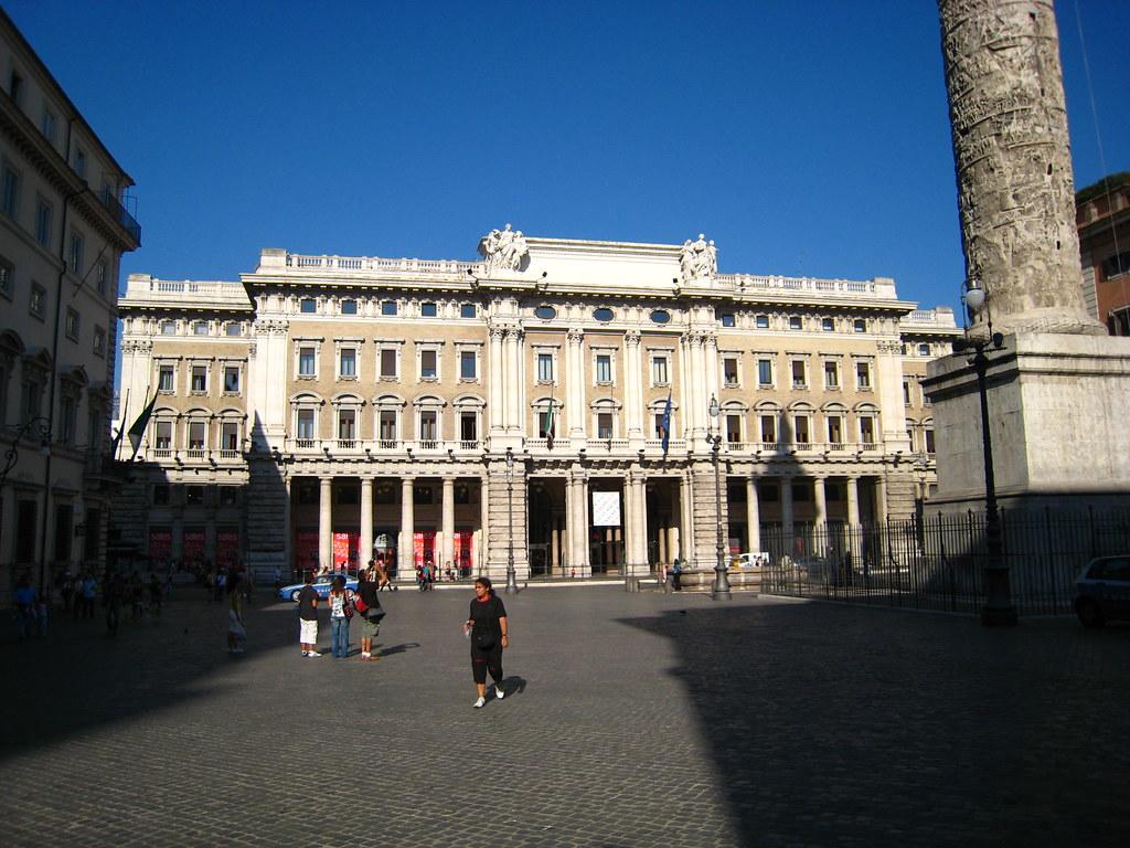 Piazza Montecitorio Roma