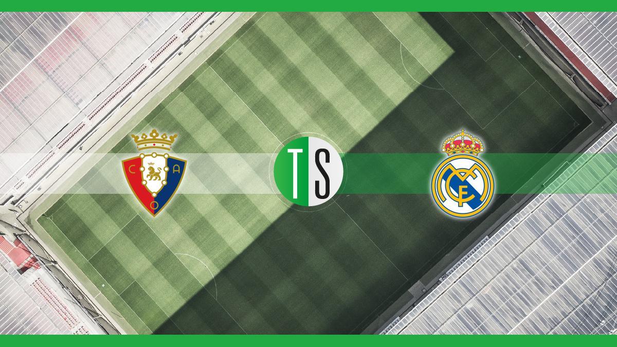 Primera Division, Osasuna-Real Madrid: probabili formazioni, pronostico e quote