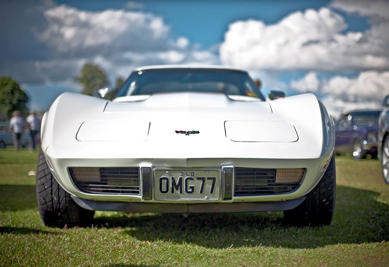 Corvette bianca
