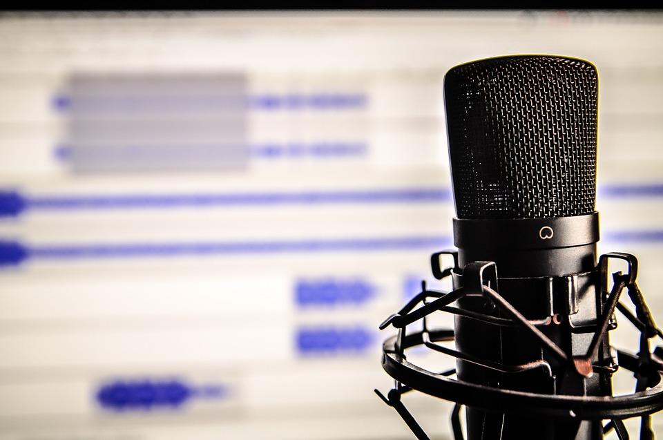 Microfono e studio