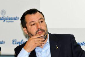 """Matteo Salvini contro l'UE: """"mai, mai pronunciare la parola"""