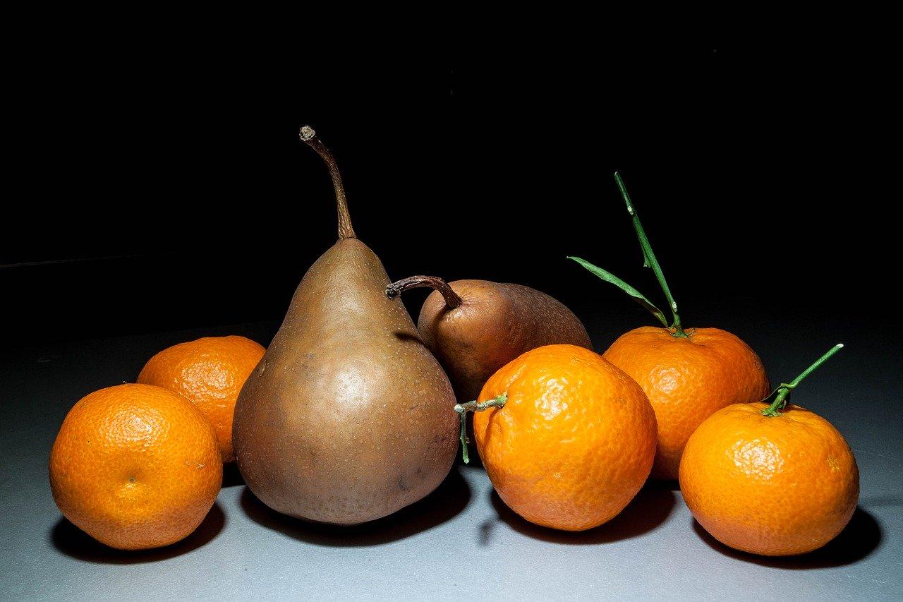 Pesticida arance e pere pericoloso per bambini