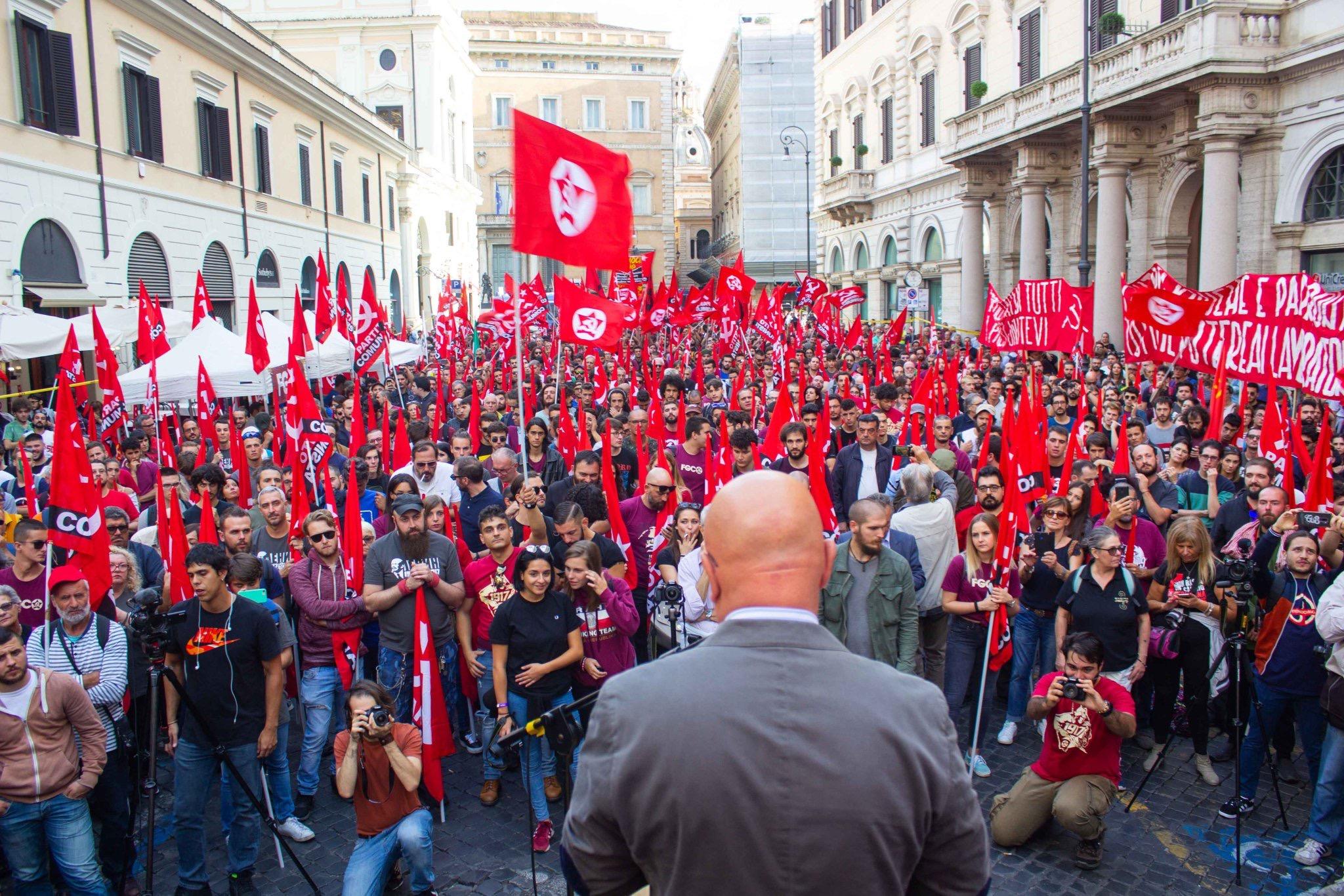 marco rizzo, partito comunista italiano