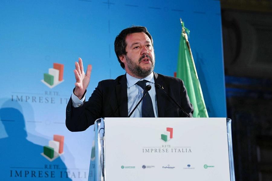"Matteo Salvini: ""zona rossa primo passo, ora 70 miliardi"""
