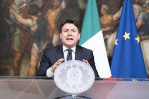 Conferenza stampa Conte contro Salvini e Meloni. Misure pror