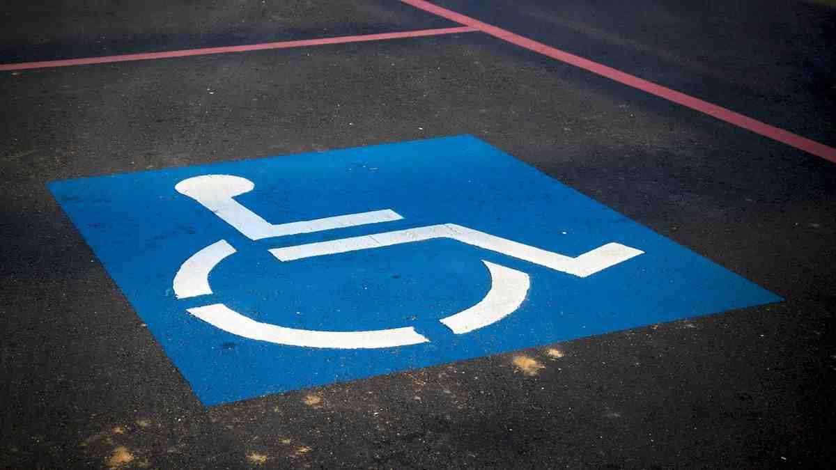 Contrassegno posteggio disabili