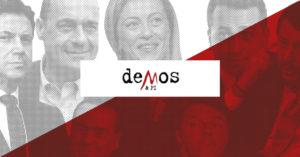 Sondaggi politici Demos&Pi: il centro non esiste più