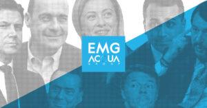 Sondaggi elettorali EMG, non c'è fiducia sul recovery fund t