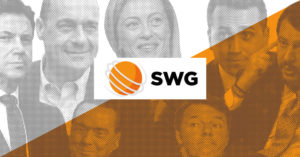 Sondaggi elettorali SWG, in recupero il Movimento 5 Stelle, PD sempre sotto il 20%