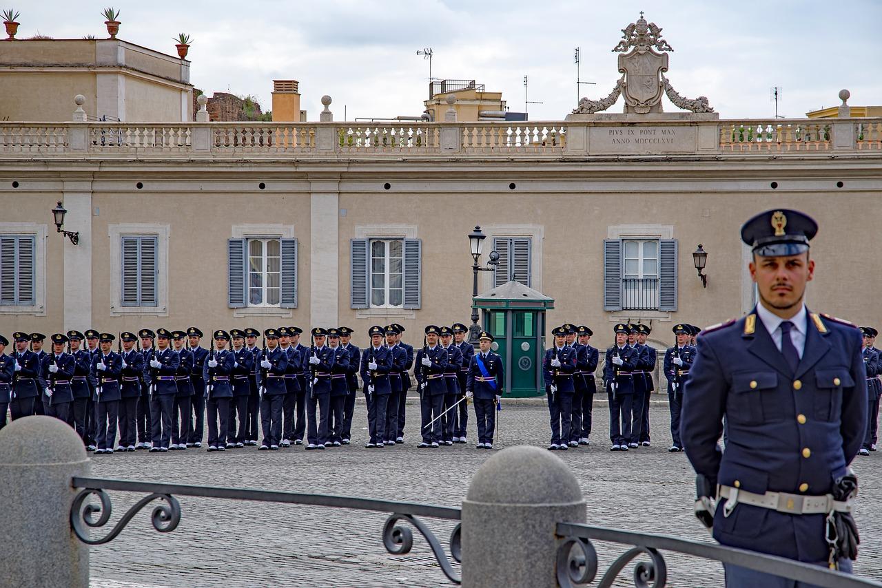 carabinieri al Quirinale