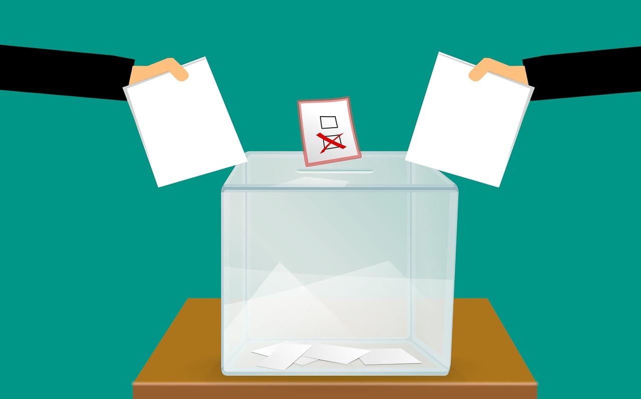 Immagine animata di un'urna elettorale