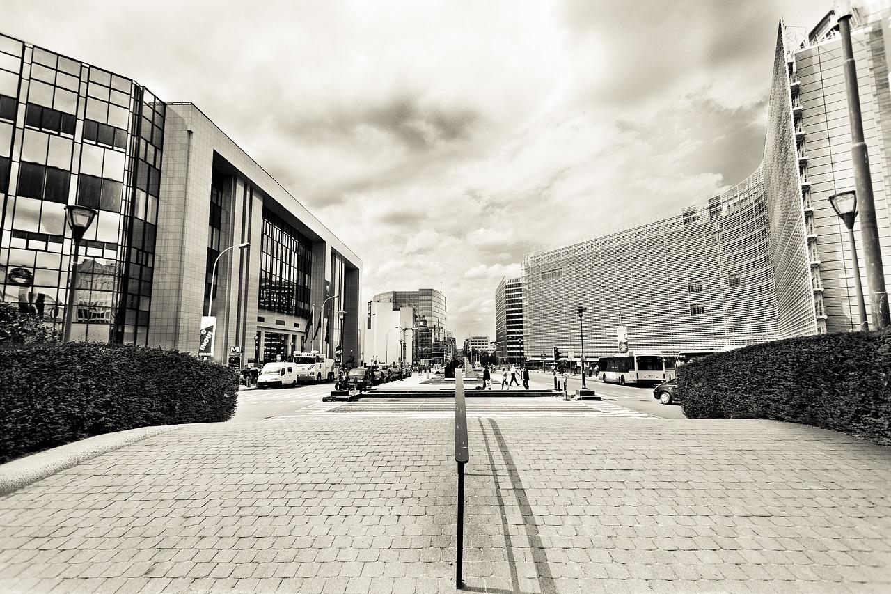 Foto del palazzo della Commissione Ue