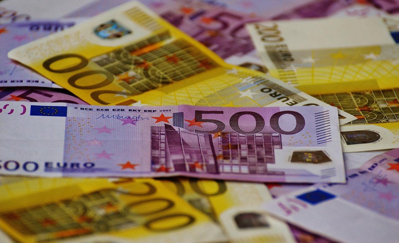 banconote da 200 e 500 euro