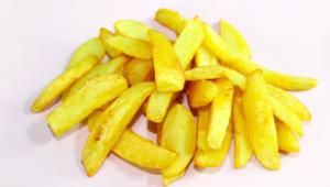 Patate fritte, fatte in casa