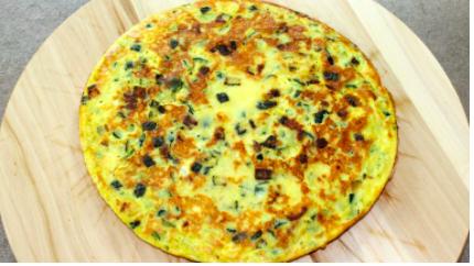 Frittata di zucchine e parmigiano, facile e veloce da preparare