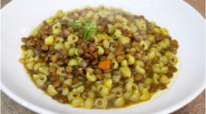 Pasta e lenticchie tradizionale