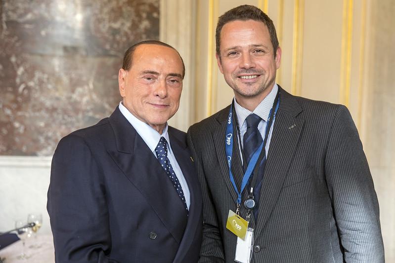 Berlusconi e Trzaskowski