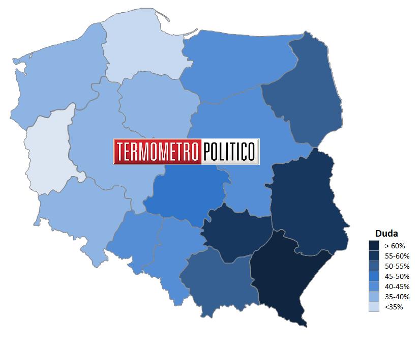 Elezioni presidenziali Polonia 2020: primo turno consenso per Trzaskowski (Platforma Obywatelska)