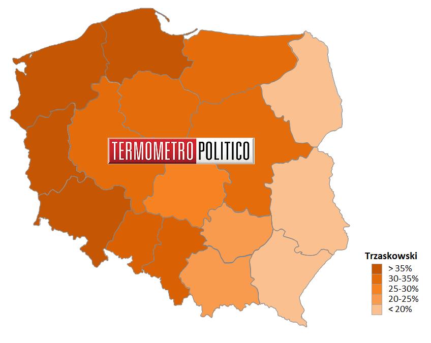 Elezioni presidenziali Polonia 2020: primo turno consenso per Duda
