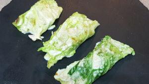 Involtini di verza al forno con carne macinata