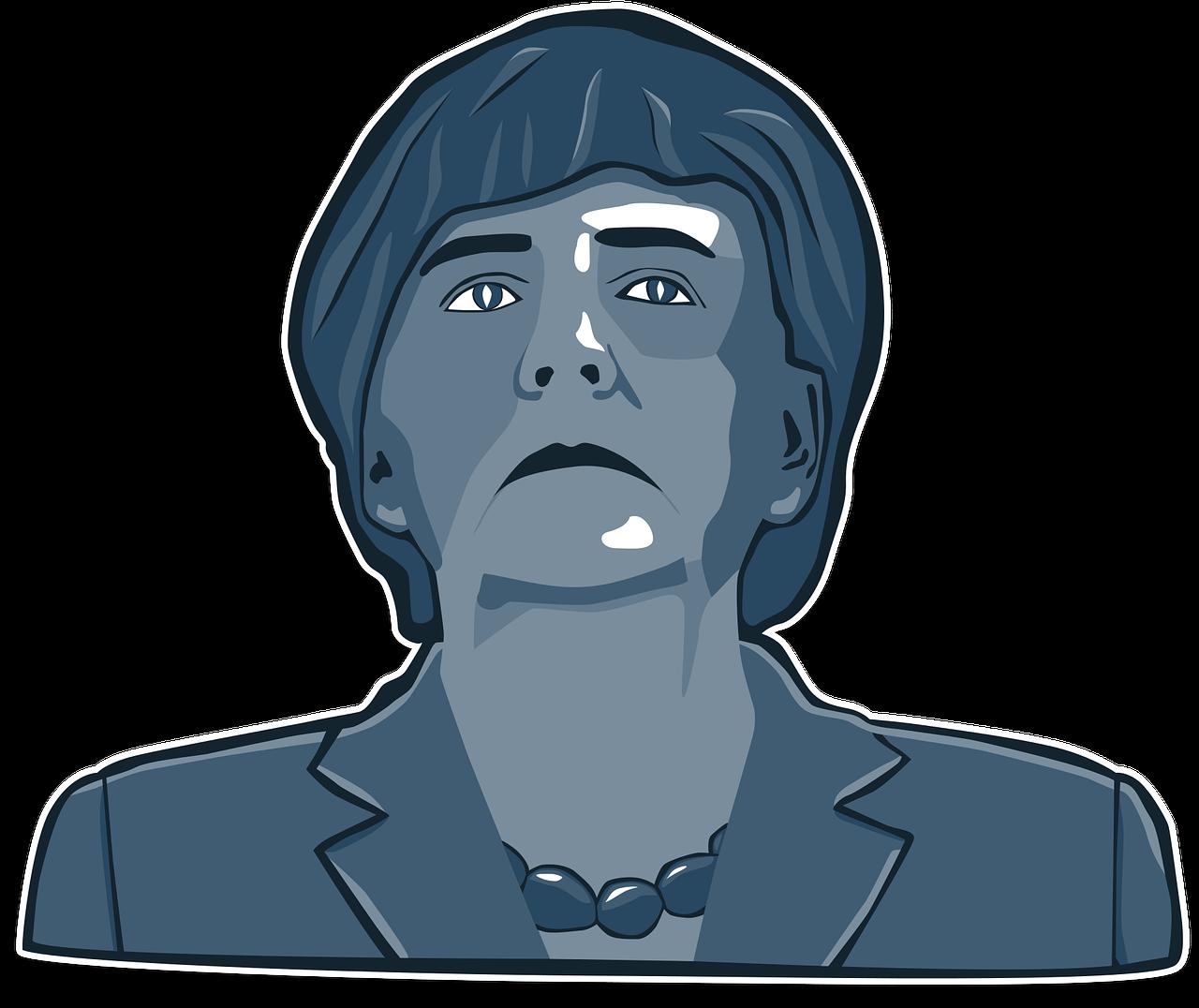 Immagine artistica Merkel