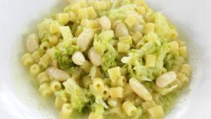 Pasta broccoletti e fagioli