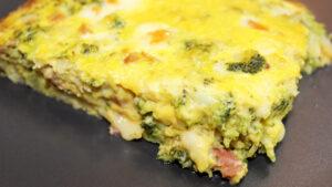 Sformato di broccoli e porcini al forno