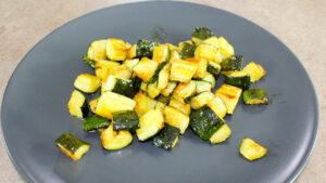 Zucchine trifolate in padella