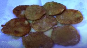 Patate impanate e fritte