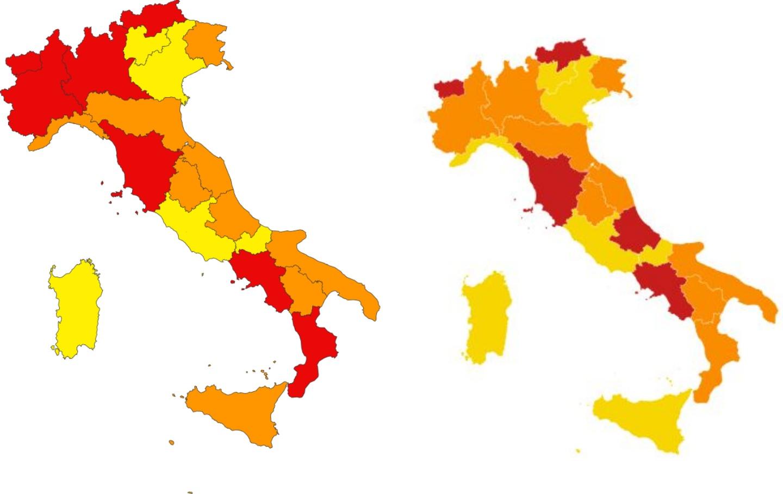 Coronavirus ultime notizie: diverse regioni hanno visto abbassarsi il proprio livello di rischio, intanto, l'indice Rt si avvicina a 1
