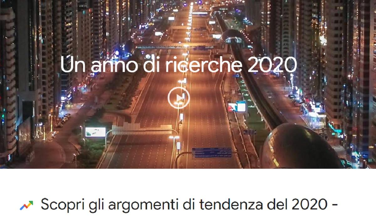 tendenze google 2020