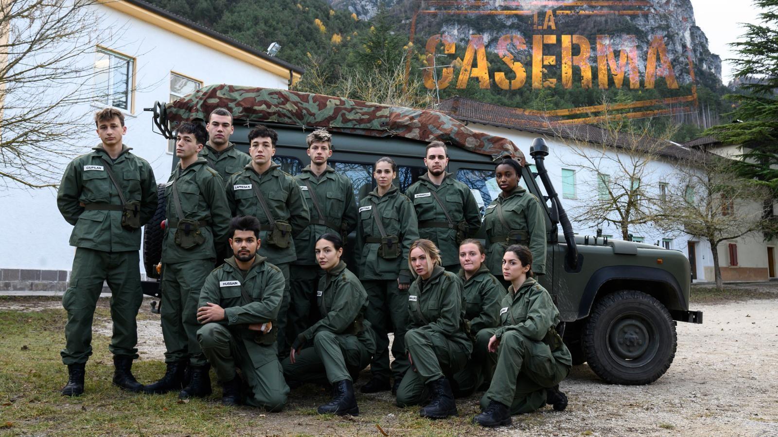 La Caserma: cast del reality e anticipazioni di stasera 27/1 su Rai 2